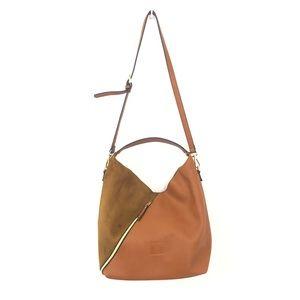 Hucke Berlin Brown Hobo Handbag Purse